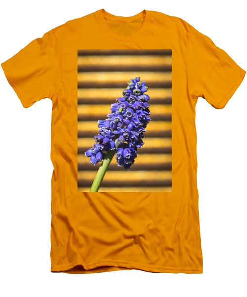 Muscari And Rust Men's T-Shirt (Slim Fit) by Caitlyn  Grasso