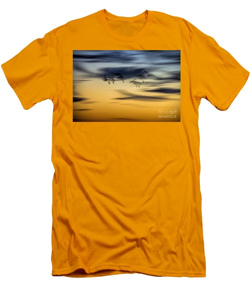 Natural Abstract Art Men's T-Shirt (Athletic Fit)