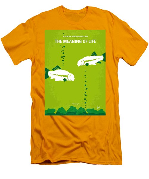 No226 My The Meaning Of Life Minimal Movie Poster Men's T-Shirt (Slim Fit) by Chungkong Art