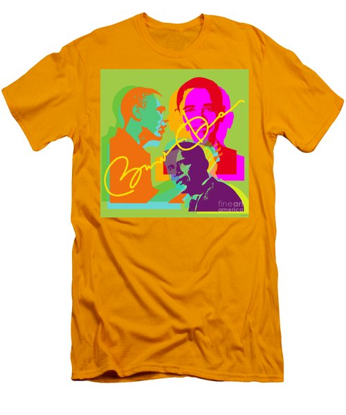 Obama Men's T-Shirt (Slim Fit) by Jean luc Comperat