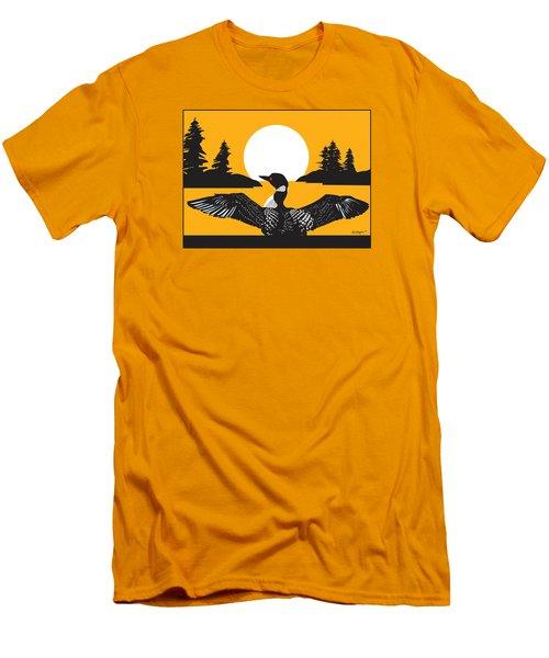 Orange Loon Men's T-Shirt (Athletic Fit)