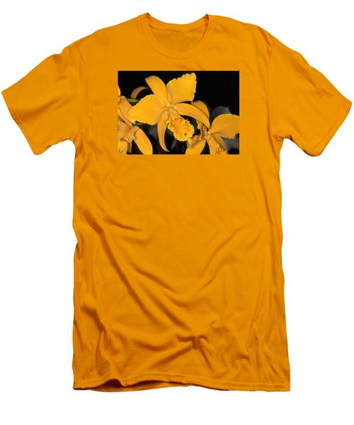 Orchid 5 Men's T-Shirt (Slim Fit) by Andy Shomock