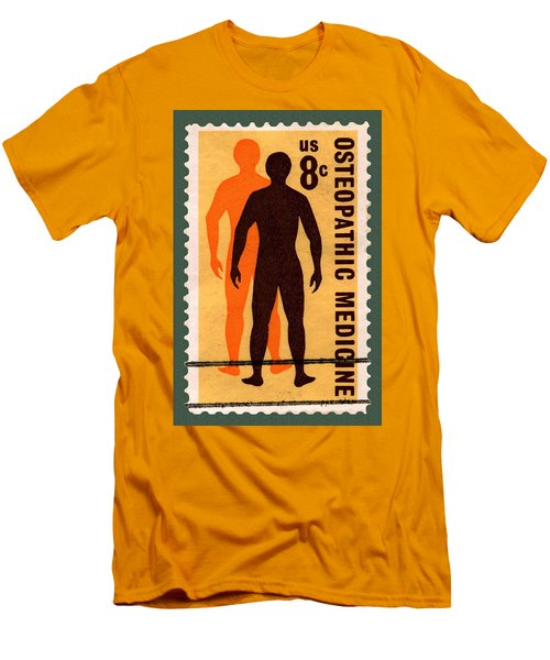 Osteopathic Medicine Stamp Men's T-Shirt (Athletic Fit)
