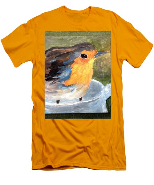 Pajarito  Men's T-Shirt (Athletic Fit)