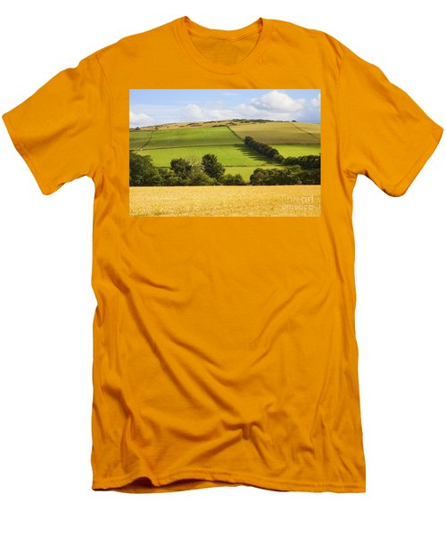 Pastoral Scene Men's T-Shirt (Athletic Fit)