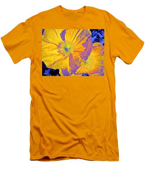 Poppy 14 Men's T-Shirt (Slim Fit) by Pamela Cooper