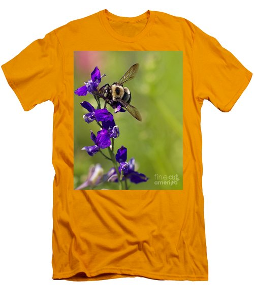 Purple Majesty Men's T-Shirt (Slim Fit) by Erika Weber