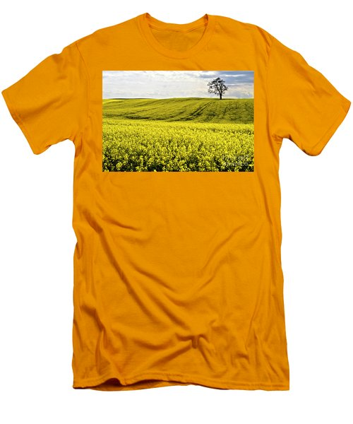 Rape Landscape With Lonely Tree Men's T-Shirt (Athletic Fit)