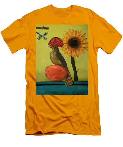 Royal Flycatcher  Men's T-Shirt (Athletic Fit)