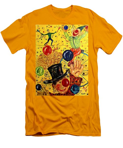 Run Away With A Circus Men's T-Shirt (Athletic Fit)