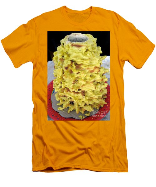 Sakotis. Lithuanian Tree Cake. Men's T-Shirt (Athletic Fit)