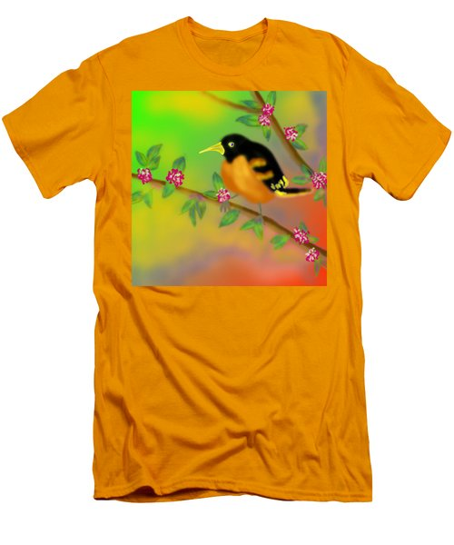 Men's T-Shirt (Slim Fit) featuring the digital art Save My Beautiful World by Latha Gokuldas Panicker