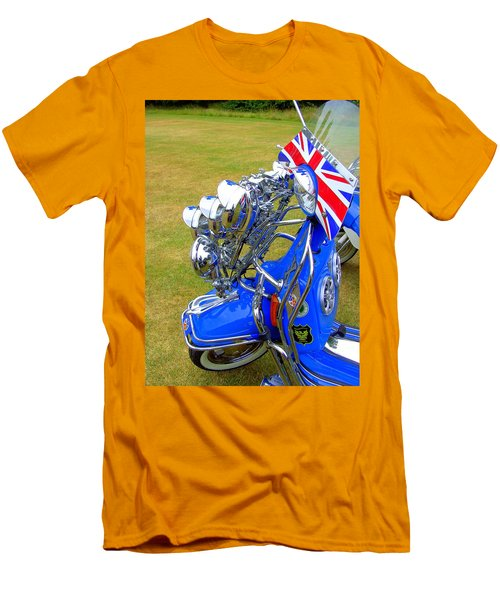 Scooter Dressed For Going Out Men's T-Shirt (Athletic Fit)