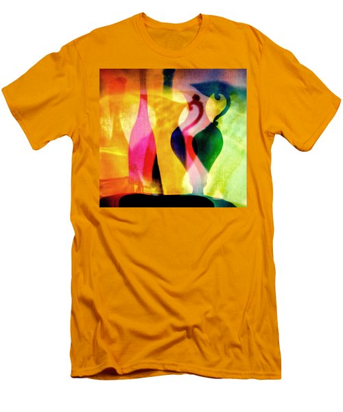Shades Of Vase And Pitcher Men's T-Shirt (Athletic Fit)