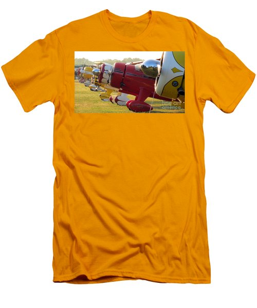 Side By Side. Oshkosh 2012 Men's T-Shirt (Slim Fit) by Ausra Huntington nee Paulauskaite