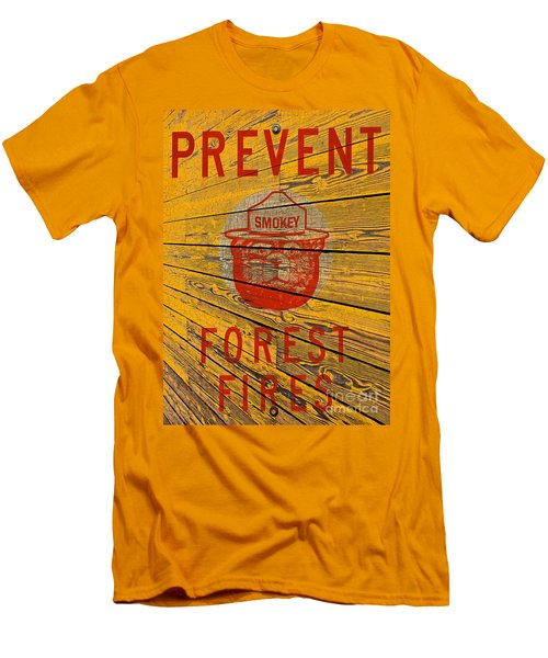 Smokey Men's T-Shirt (Slim Fit) by David Lawson