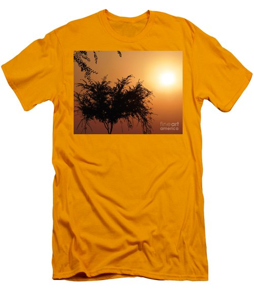 Soft Sunrise Men's T-Shirt (Athletic Fit)