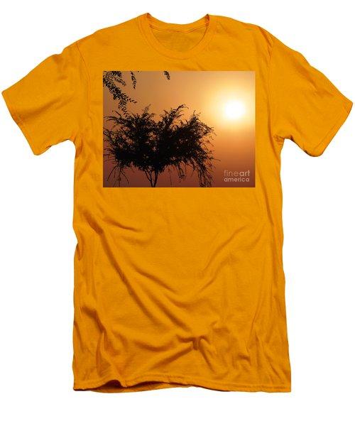 Soft Sunrise Men's T-Shirt (Slim Fit) by Meghan at FireBonnet Art