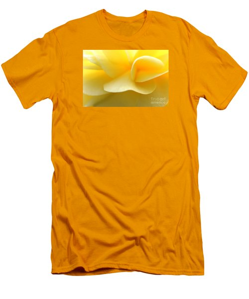 Soft Yellow Men's T-Shirt (Athletic Fit)