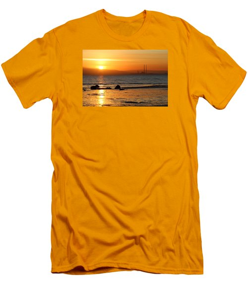 Solar Gold Men's T-Shirt (Athletic Fit)