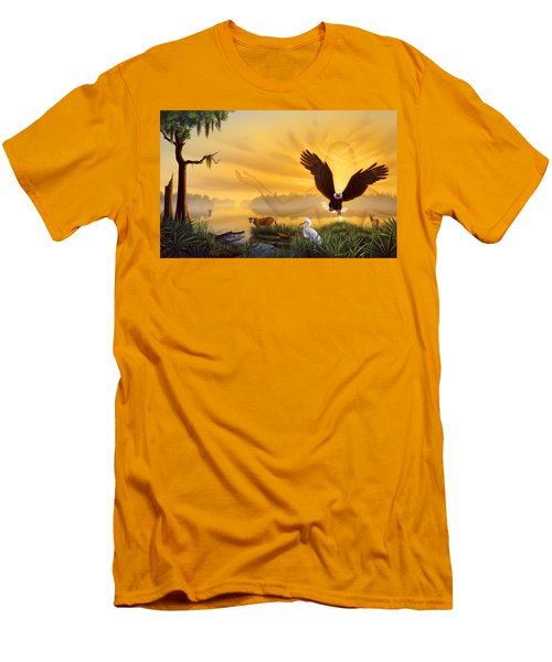 Spirit Of The Everglades Men's T-Shirt (Athletic Fit)