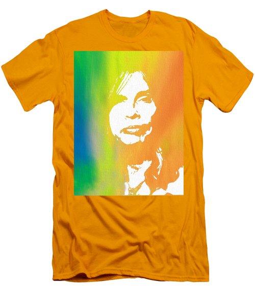 Steven Tyler Canvas Men's T-Shirt (Athletic Fit)