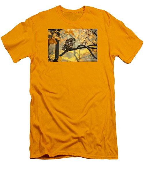 Stubborn Owl Men's T-Shirt (Athletic Fit)