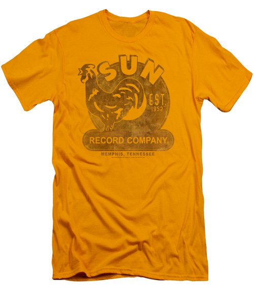 Sun - Sun Record Men's T-Shirt (Athletic Fit)