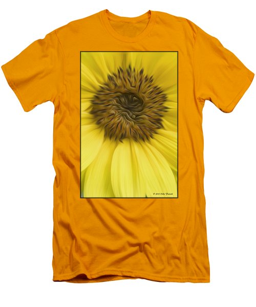 Sunflower Men's T-Shirt (Slim Fit)