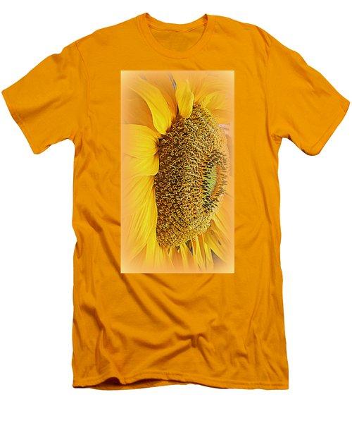Sunflower Men's T-Shirt (Slim Fit) by Kay Novy