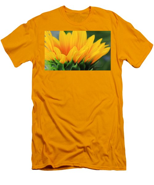 Sunflower Profile Men's T-Shirt (Athletic Fit)