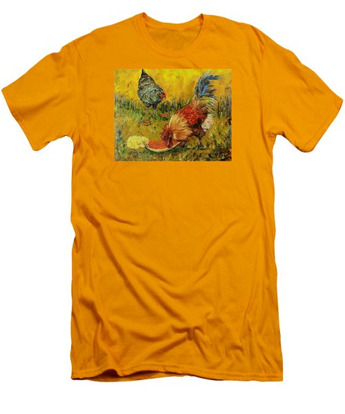 Sweet Pickins, Chickens Men's T-Shirt (Athletic Fit)