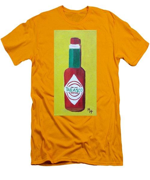 Tabasco Brand Pepper Sauce Men's T-Shirt (Athletic Fit)
