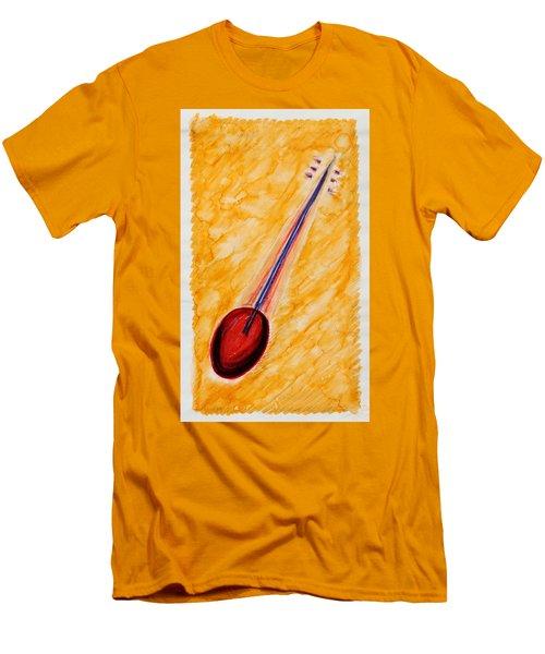 Tambura Violin  Men's T-Shirt (Athletic Fit)