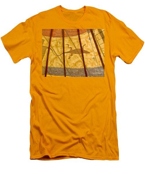 Tee  Pee Men's T-Shirt (Slim Fit) by Gary Warnimont