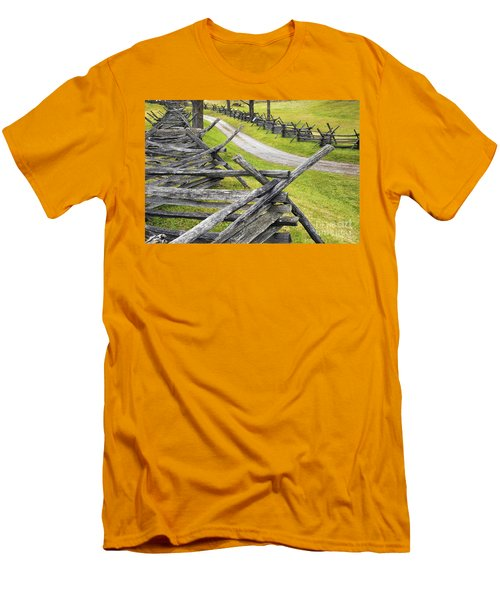 The Bloody Lane At Antietam Men's T-Shirt (Athletic Fit)