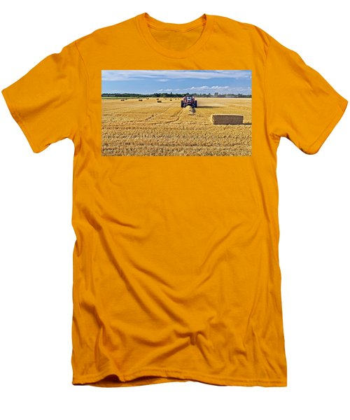The Harvest Men's T-Shirt (Slim Fit) by Keith Armstrong
