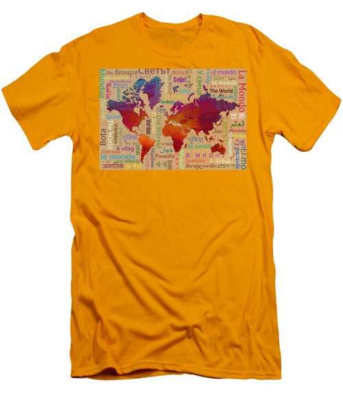 The World Men's T-Shirt (Athletic Fit)