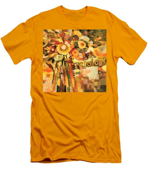 This Is The Day To Rejoice Men's T-Shirt (Athletic Fit)