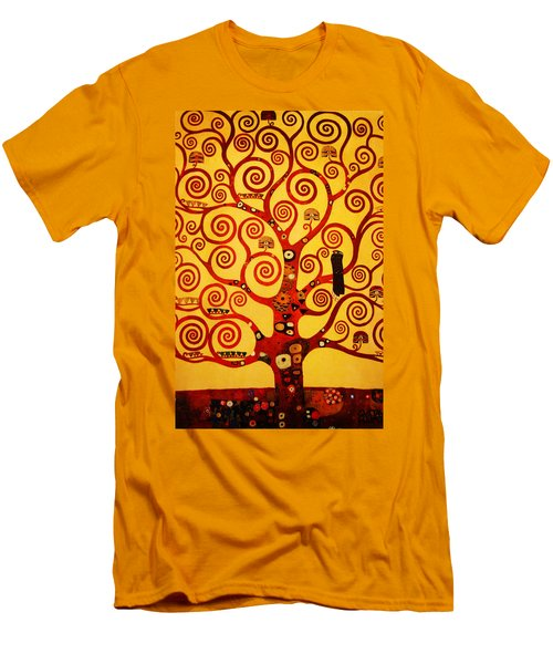 Tree Life Men's T-Shirt (Slim Fit) by Celestial Images