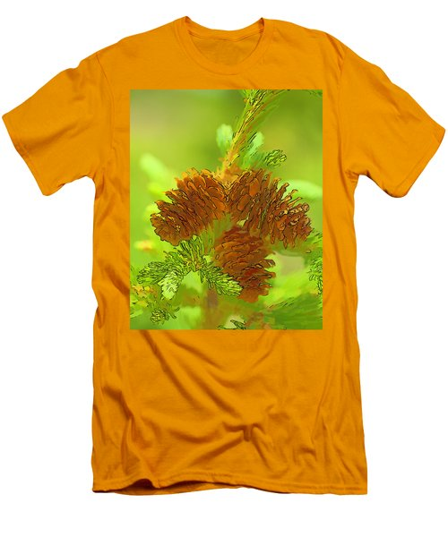 Tri Cones Men's T-Shirt (Athletic Fit)