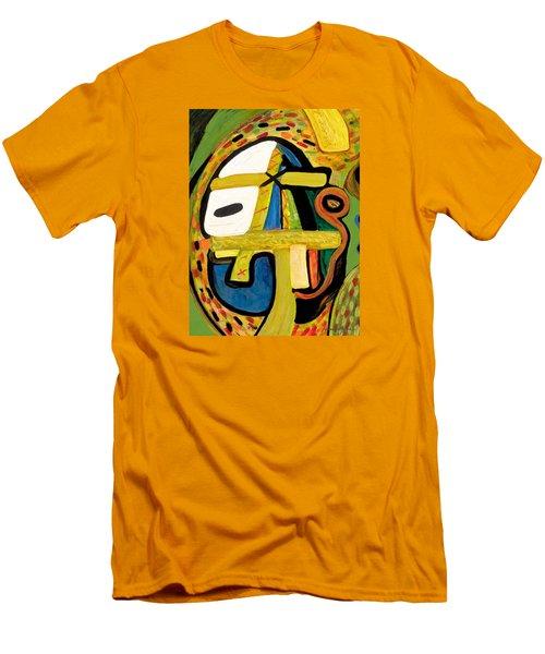Tribal Mood Men's T-Shirt (Slim Fit) by Stephen Lucas