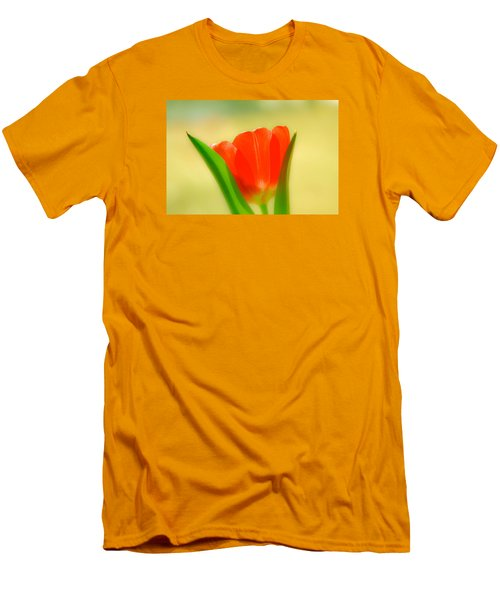 Tulip  Men's T-Shirt (Slim Fit) by Menachem Ganon