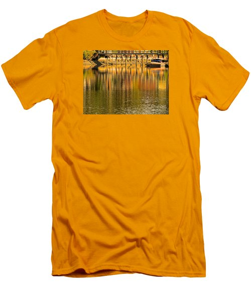 Under The Dock Men's T-Shirt (Athletic Fit)