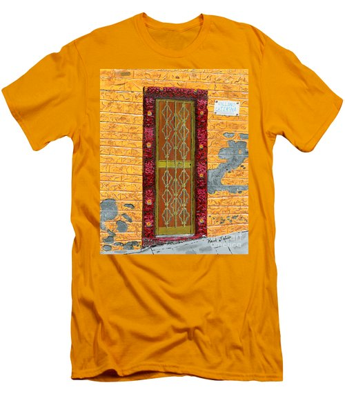 Villino Caterina In Cinque Terra Men's T-Shirt (Athletic Fit)