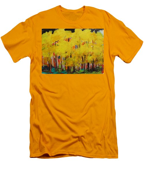 Yellow Refreshment Men's T-Shirt (Athletic Fit)