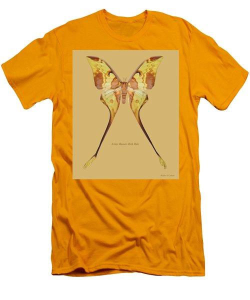 Actias Maenas Moth Male Men's T-Shirt (Athletic Fit)