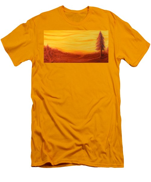 Amoreena's Tree Men's T-Shirt (Athletic Fit)