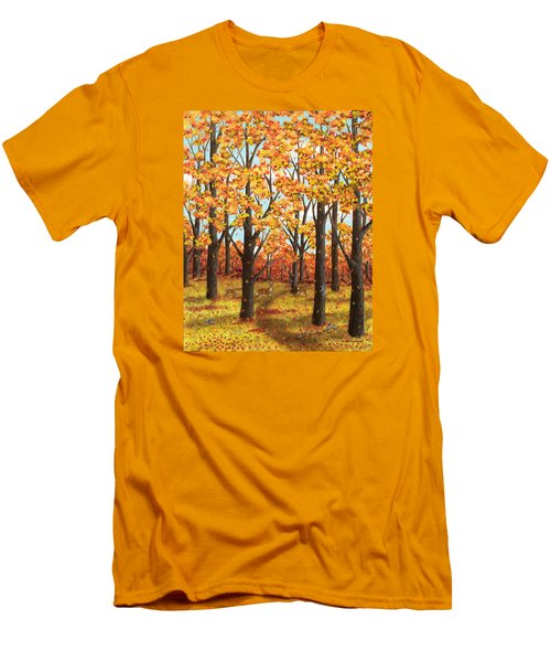 Autumn Meadow Men's T-Shirt (Athletic Fit)