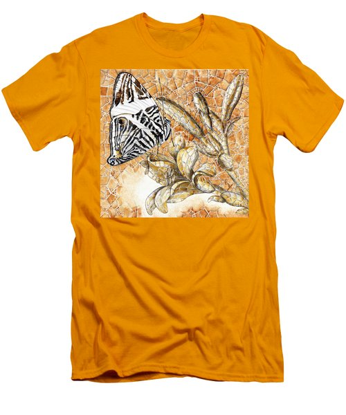 Butterfly Mosaic 02 Elena Yakubovich Men's T-Shirt (Athletic Fit)